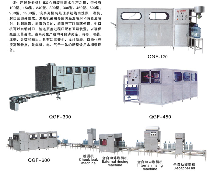full automatic barrel package production line